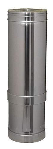 Rúra nastav.530-880mm nerezová izolovaná Dinak DW6