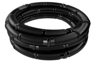 Plastová flexi hadica čierna DN80/50m