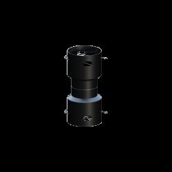 Spojka-kondenz. DN110 flex. plastovej rúry