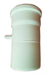 Zachytávač kondenzátu vertikálny DN160 biely plast
