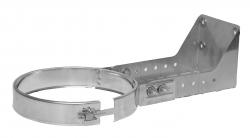 Stenový držiak 100-250mm nastaviteľný, nerezový Dinak DW