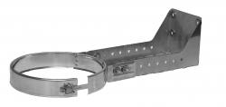 Stenový držiak 250-430mm nastaviteľný, nerezový Dinak DW