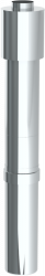 Komín vertik.koaxiálny 80/125/1030 plast/nerez