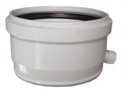 Kaskáda- revízny uzáver DN160 s odvodom kondenzu