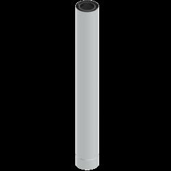 Rúra koaxiálna 80/125/1000 plast/nerez