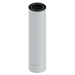 Rúra koaxiálna 80/125/500 plast/nerez