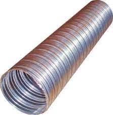 Rúra flexibilná DN130/1m/2x0,10mm nerez