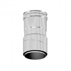 Prechodka-kondenz.vrchná DN80 flex.nerezovej rúry