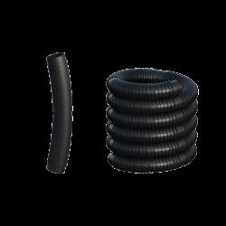 Rúra flexibilná bez koncoviek DN110 čierny plast